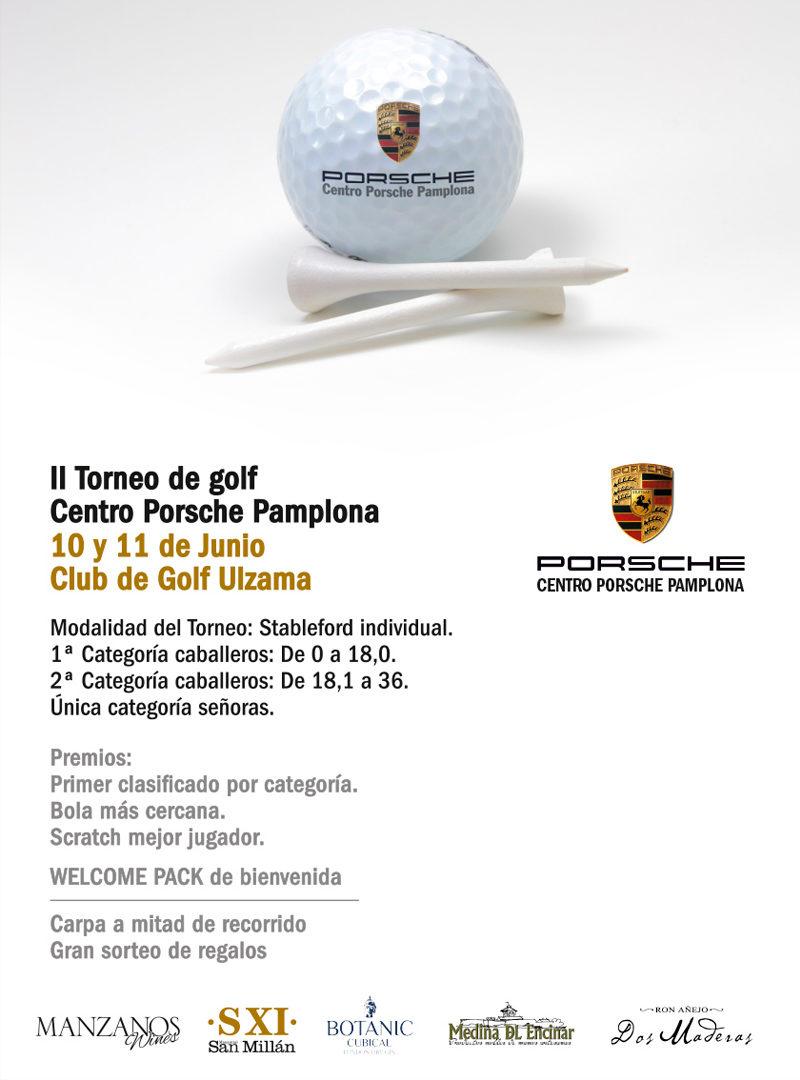 Torneo Golf Centro Porsche Pamplona
